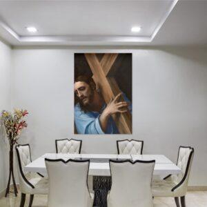 Cuadro Cristo con la cruz
