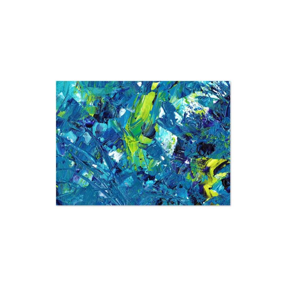 Cuadro abstracto acrílico