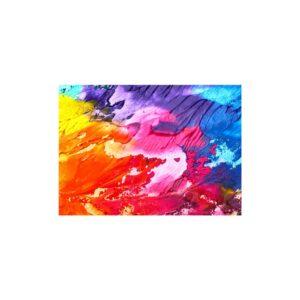 Cuadro abstracto colorido