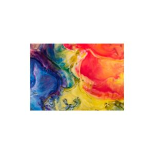 Cuadro abstracto líquidos