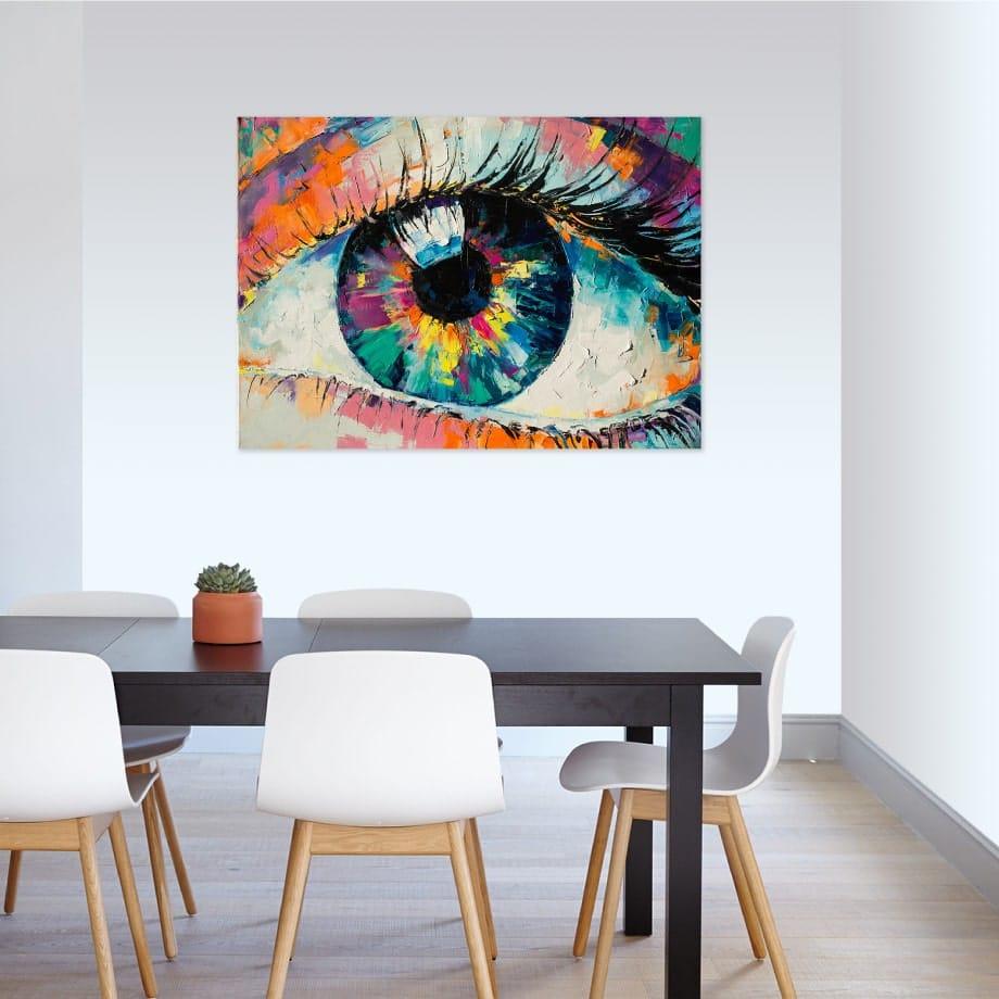Cuadro arte ojo