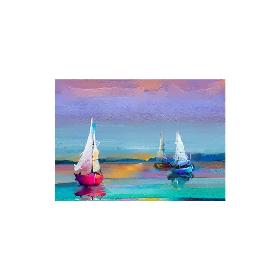 Cuadro barcos de vela