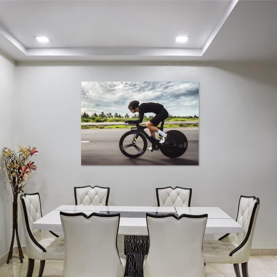 Cuadro ciclista contrarreloj