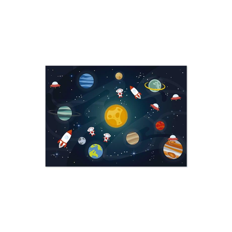 Cuadro galaxia infantil