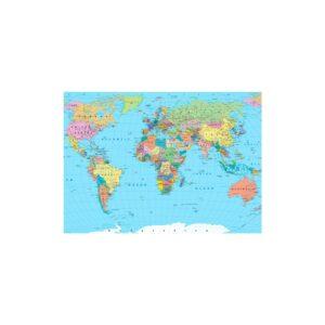 Cuadro mapamundi división