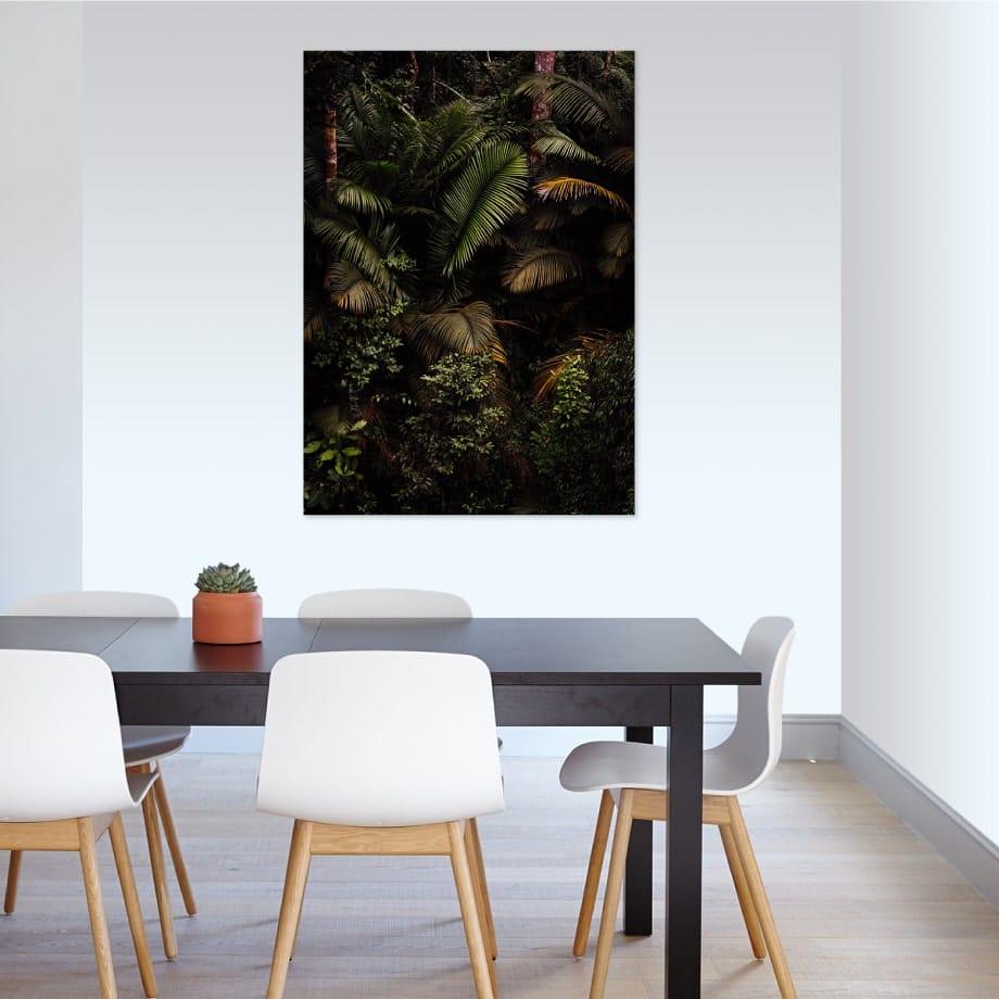 Cuadro selva tropical