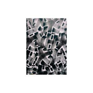 Cuadro strokes en blanco y negro