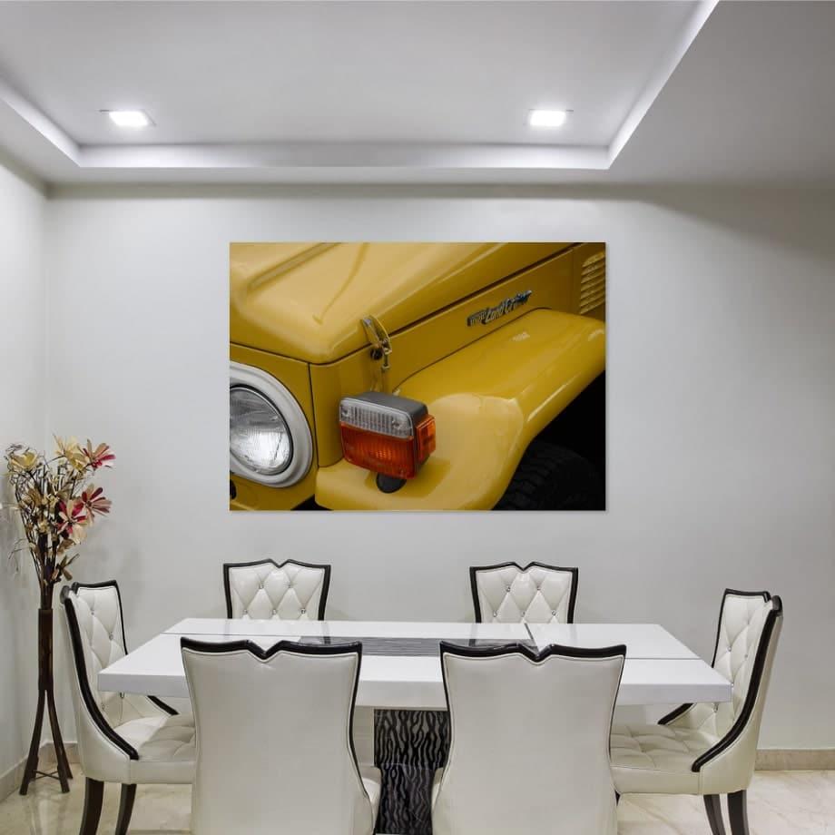 cuadro Toyota clásico