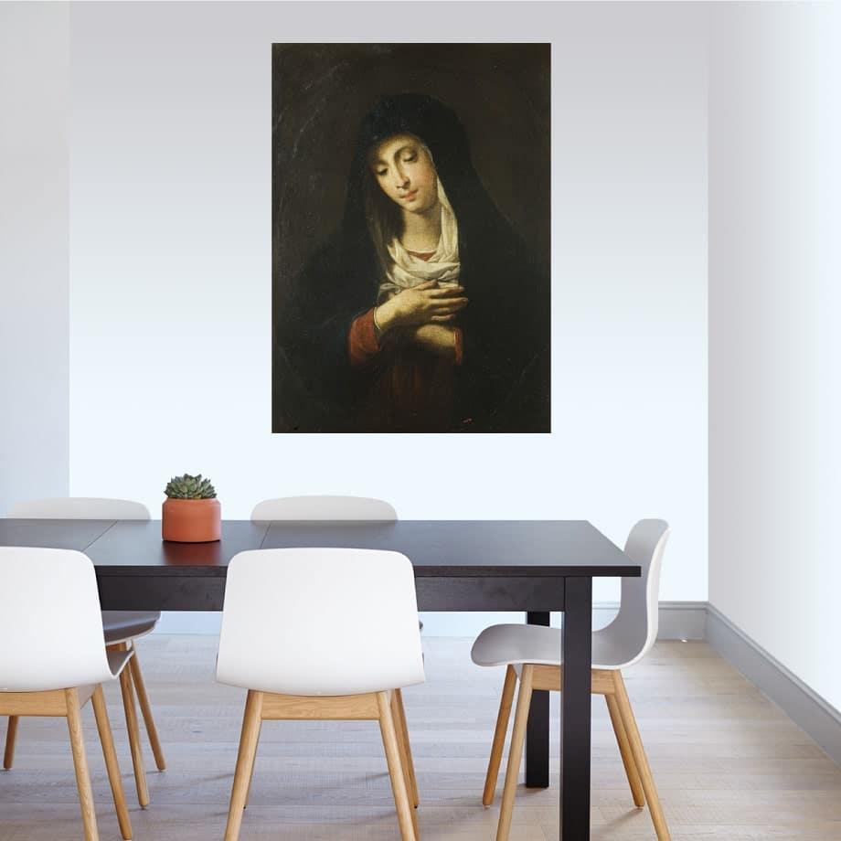 Cuadro Virgen Dolorosa