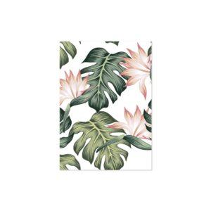 Cuadro patrón de hojas